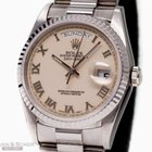 Rolex Day Date Ref-18239 18k White Gold Papers Bj-1993
