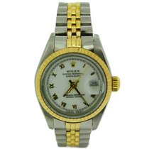 Rolex Oyster Perpetual Datejust 18ct Yellow Gold and Steel 69173
