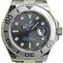 Rolex Yacht-Master 40 116622 Dark Rhodium Platinum Stainless...