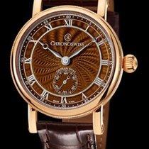 Chronoswiss Unique Timepieces Artist Brown Guilloche Fire...