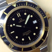 Omega Seamaster Professional 200m Gold Steel Quartz Gents