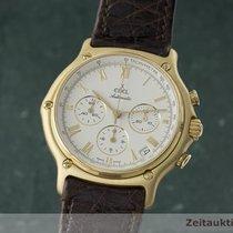 Ebel 1911 Chronograph 18k Gold Automatik Herrenuhr Kal. 134