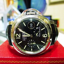 Panerai Luminor Power Reserve Black Dial 2014 Auto Stainless...