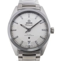 Omega Constellation Globemaster 39 Automatic Silver Dial