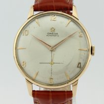 Omega Vintage Automatic Calibre 344 Bamper Calibre 18K Gold