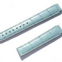 Chopard Croco Armband Band Strap Blau Blue 16 Mm 75/115 New...