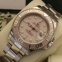 Rolex Yacht-Master Rolesium platinum 40 mm box papers and service