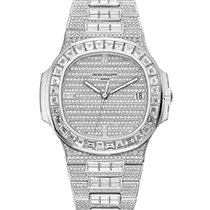 파텍필립 (Patek Philippe) Nautilus Baguette Diamonds