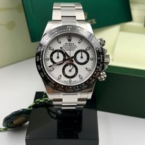 Rolex Daytona 116500 ln ceramic bezel white dial