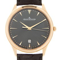 Jaeger-LeCoultre Master Ultra Thin 18k Rose Gold Gray Automati...
