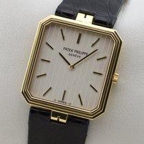 Patek Philippe Squarre Ref. 3763 18K Gold Gelbgold Service...