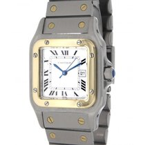Cartier Santos 2961 Steel, Yellow Gold, 29x41mm