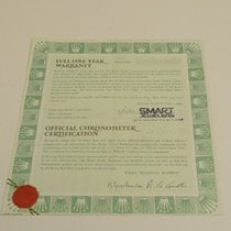 Rolex Warranty Certificate