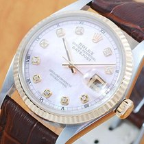 롤렉스 (Rolex) Rolex Gold & S/S Pearl Diamonds DateJust...