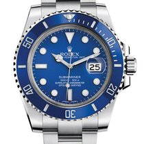 Rolex Submariner Custom Ceramic Blue 116610