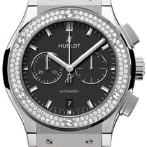 Hublot Clssic Fusion Titanium Diamonds
