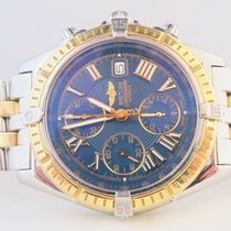 Breitling Crosswind Chronograph 18k Steel Gold (Box&Papers)