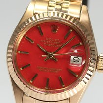 ロレックス (Rolex) DATE JUST Original rare red dial ladies 6917