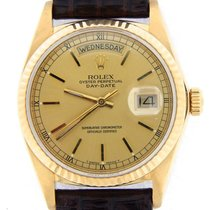 Rolex 18k Gold Day-date President Champagne 18038