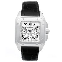 Cartier Santos 100 Chronograph Men's Watch 2740 W2020005