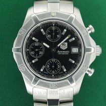TAG Heuer Exclusive 2000 Automatic Chronograph 40mm Black Dial