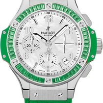 Hublot Big Bang Tutti Frutti Green Apple 18K White Gold &...