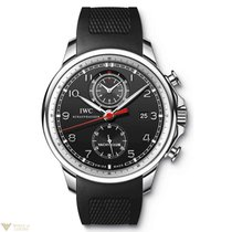 IWC Portuguese Yacht Club Chronograph Stainless Steel Men'...