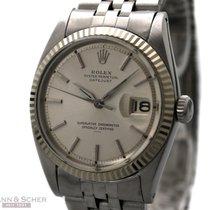 Rolex Vintage Datejust Underline Man Size Ref-1601 Stainless...