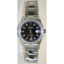 Rolex Datejust 178240 Midsize Stainless Steel New Style Design...