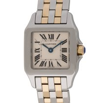 Cartier : Ladies Santos Demoiselle :  W25066z6 :  18k Gold and...