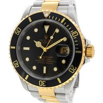 Rolex Oyster Perpetual Date 18K Gold/SS Submariner 16613