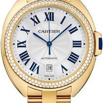 Cartier Cle De Cartier Automatic 40mm 18kt Yellow Gold WJCL0010