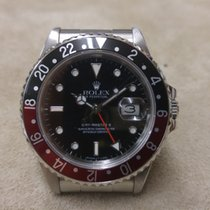 ロレックス (Rolex) GMT Master II - 16760 - Fat Lady - Dark Bezel -...