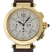 Cartier Pasha Chronograph W3109951 42mm Rose Gold Box/Paper/2Y...