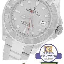 Rolex Yacht-Master 16622 Stainless Platinum Rolesium 40mm Watch