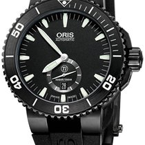 Oris Aquis Titan Small Second Hand All Black