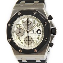 Audemars Piguet Mens Royal Oak Offshore Chronograph RubberClad...
