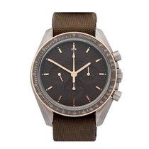 Omega Speedmaster Apollo 11 Titanium Men's 31162423006001 - W5285