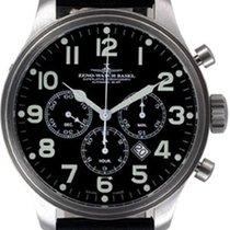 Zeno-Watch Basel OS Pilot Chronograph Tricompax Date