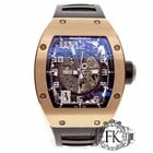 Richard Mille RM010 AG RG | Rose Pink Gold Automatic | RM 10