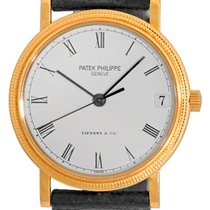 Patek Philippe Gent's 18K Yellow Gold  Ref # 3802 Tiffany...