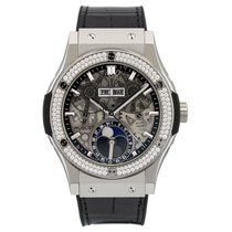 Hublot Classic Fusion Moonphase Titanium Diamonds 42 mm