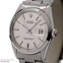 Rolex Vintage Datejust Man Size Ref-1600 Flat Bezel Structured...