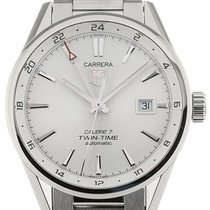 TAG Heuer Carrera 41 Automatic Silver Dial Calibre 7