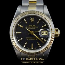 Rolex Datejust Lady Steel & Gold With Box Top Condition