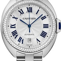 Cartier Cle De Cartier Automatic 40mm 18kt White Gold WJCL0008