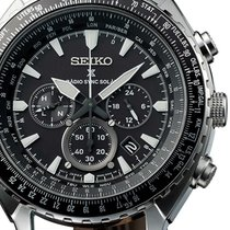 Seiko SSG005P1 Prospex Radio Sync Solar Chronograph 47mm 10ATM
