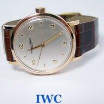 万国  (IWC) 18k Rose IWC SHAFFHAUSEN Winding Watch c.1950s...