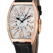 Franck Muller Cintrée Curvex Classic 18K Rose Gold Men`s Watch