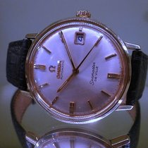 Omega seamaster DE VILLE automatic date gold and steel